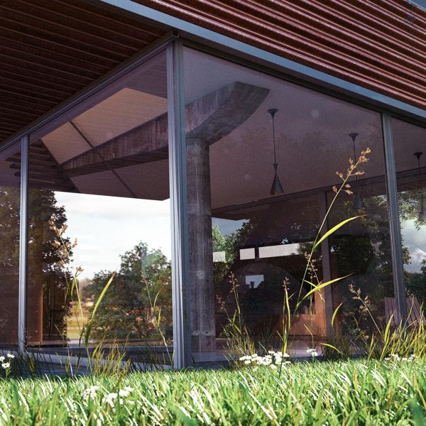 Villa dall'Ava on Behance