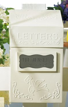 Special Delivery Letter Box from Wedding Favors Unlimited