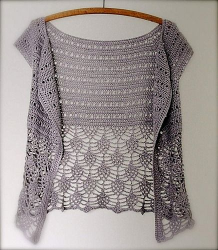 Nice free pattern on Ravelry! Ariane by Peggy Grand - This pattern is available as a free Ravelry download ༺✿ƬⱤღ✿༻