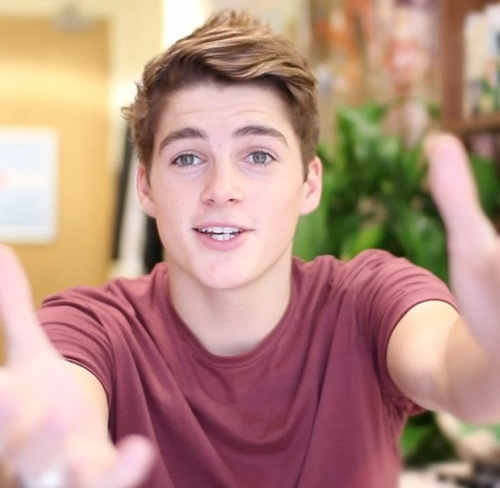 Finn Harries.   1. He's British  2. He has an equally attractive twin brother.