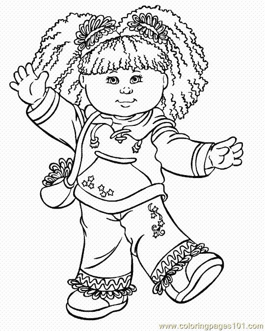 Kids Coloring Book Pages 10
