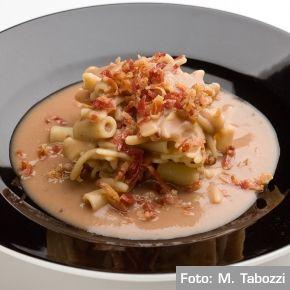 Chef Gualtiero Marchesi - Crema di fagioli e pasta mista / Cream of beans and mixed pasta