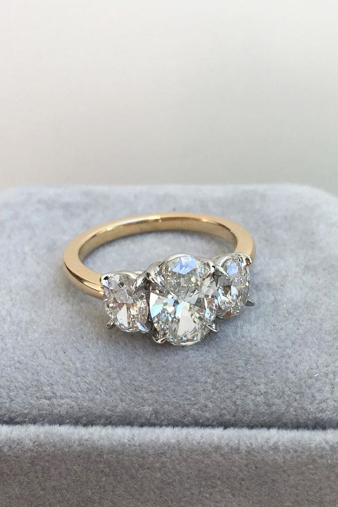 24 Three Stone Engagement Rings You Will Want Diamonds Pinterest And Wedding