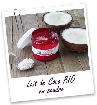 Actif cosmétique Lait de Coco BIO en poudre Aroma-Zone