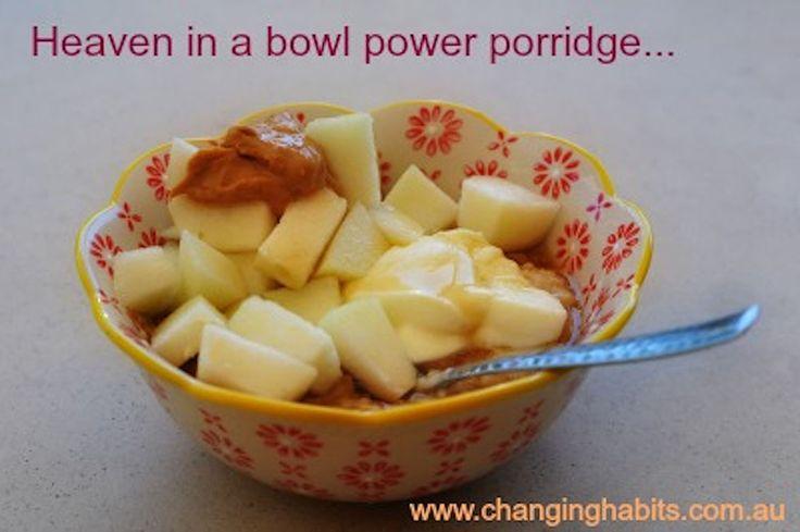 Nutty Pear Porridge