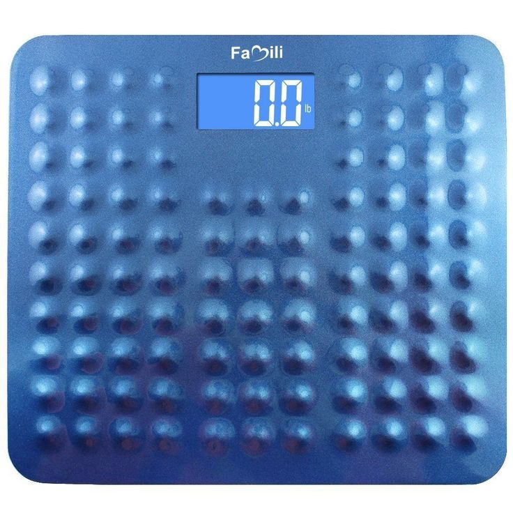 Digital Body Weight Scale Electronic LCD Bathroom Health Fitness Weigh 400lb New