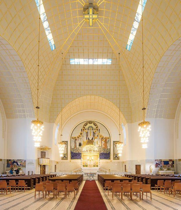 Resultado de imagen para steinhof church dome inside