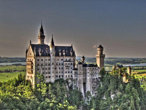 Neuschwanstein a castle of paradox - Germany