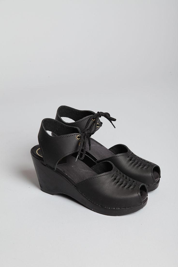 H By Hudson Mens Black Black Hendred Mix Derby Shoes Catwalk Big Yards