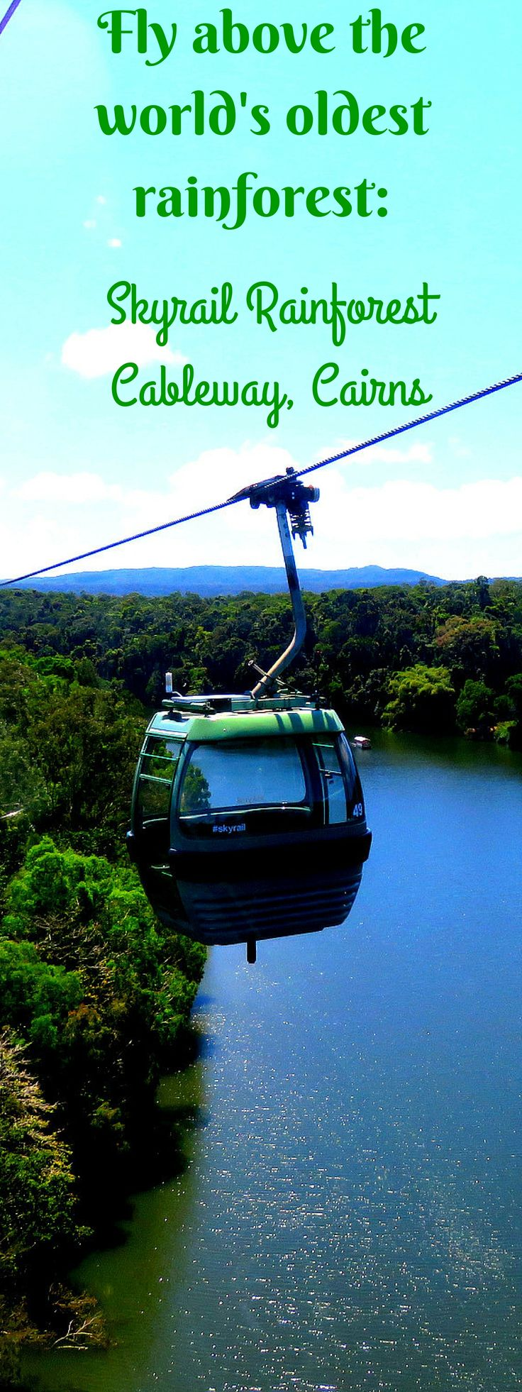 Skyrail Rainforest Cableway, Cairns - a journey above one of the world's oldest rainforests.