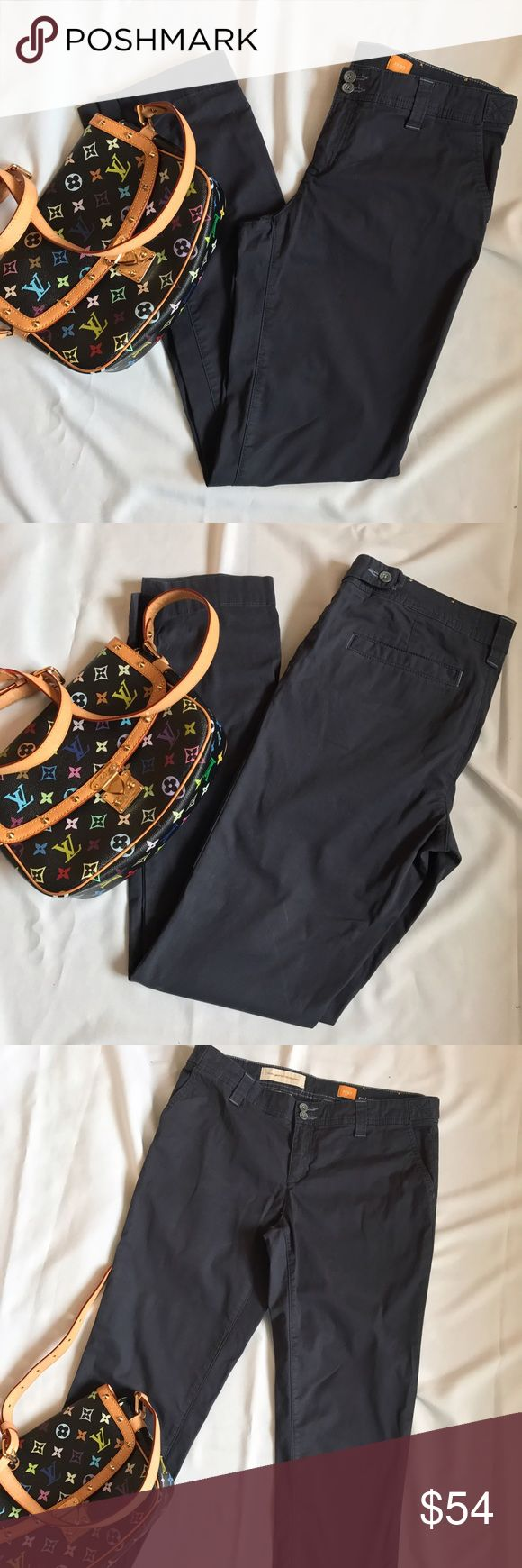 Anthropologie Pilcro Dark Blue Skinny Pants 27 / 4 They're in excellent condition! The Anthropologie Pants Trousers