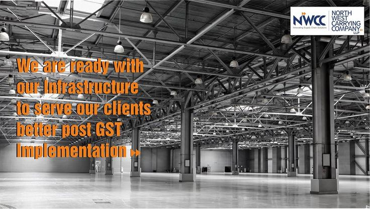 We are ready with our infrastructure to serve our clients better after GST implementation. Request a consultation at http://www.nwccindia.com/contact/ #nwcc #GST #Warehosuing #Logistics #Distribution