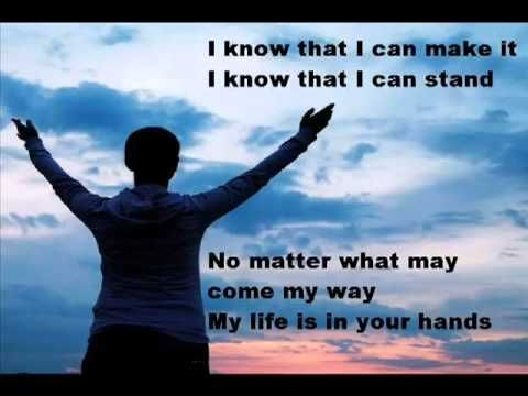 What an assurance to know that no matter what  I'm going through that my life is in the hands of my precious  Jesus!!!