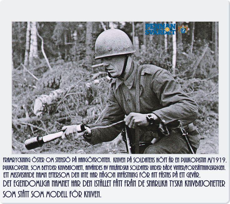 Två år senare var modellen fastställd. När modellen stod klar inleddes produktionen som först kom att ske i Tyskland, men senare även i Finland där Fiskars / Hackman & Co var tillverkare. Kniven tilldelades ursprungligen underofficerare, men kom med tiden även att bli tillgänglig för finländska soldater. När vinterkriget bröt ut var det många som bar puukkopistin i sina bälten. Det var något ryssarna sannerligen fick erfara under de blodiga och skräckfyllda vintermånaderna i Finland!