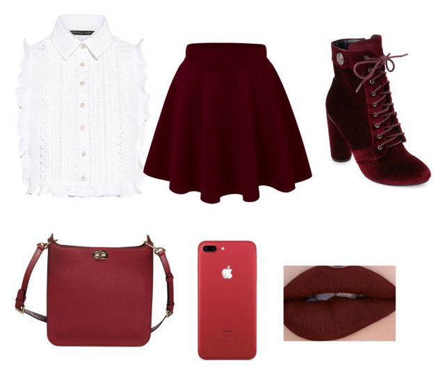 """Red"" by ashiamarshall ❤ liked on Polyvore featuring Marissa Webb, Catherine Catherine Malandrino and MICHAEL Michael Kors"