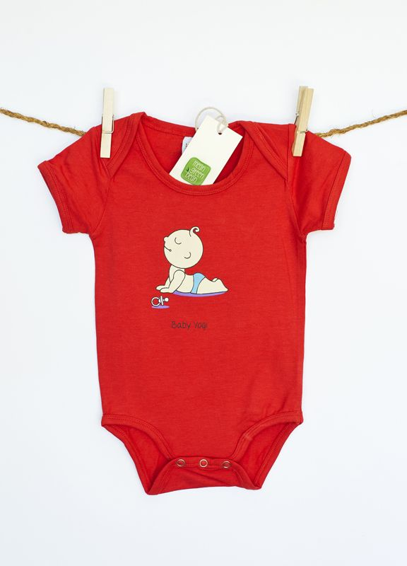 Unisex organic baby onesie in 0-3m, 3-6m and 6-12m. $23.99 via www.meangreenbean.com.au