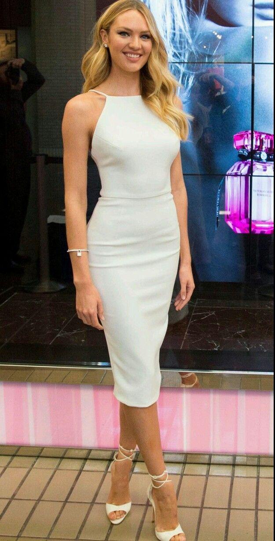 Vestido midi lápis in 2019 | Dresses, Trendy dresses, Celebrity dresses