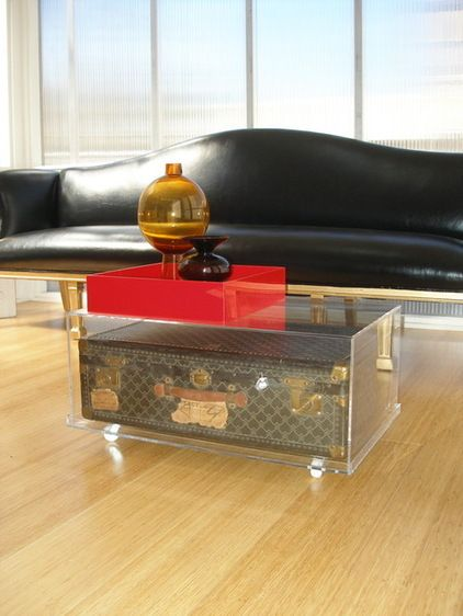eclectic living room by Jordan Cappella
