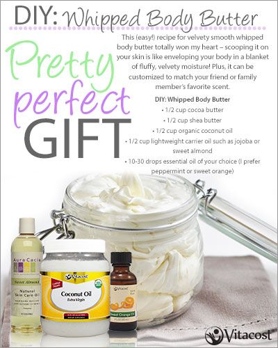 DIY Whipped Body Butter