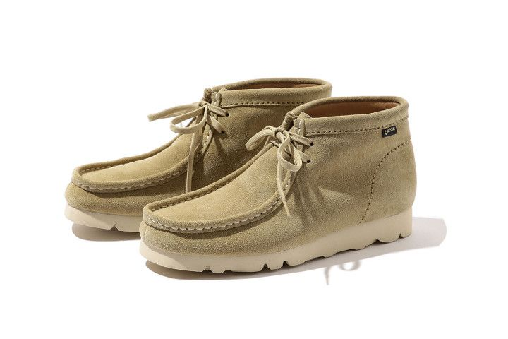 61c167a6 BEAMS Upgrades the Clarks Wallabee Boot With Vibram & GORE-TEX in ...