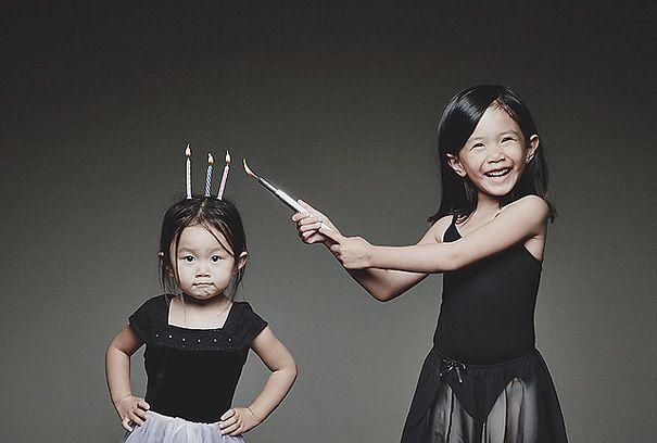 Creative Dad Takes Crazy Photos Of Daughters -Inspiring photo set!