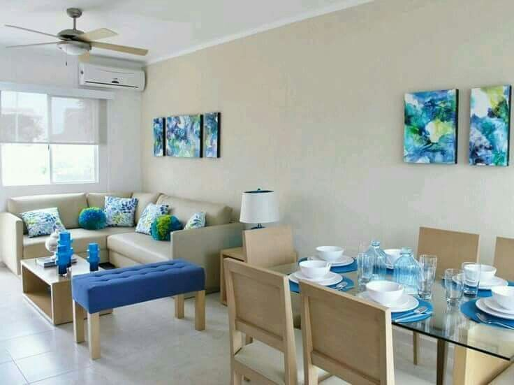 Mejores 32 im genes de decoraciones para espacios peque os - Comedor pequeno decoracion ...