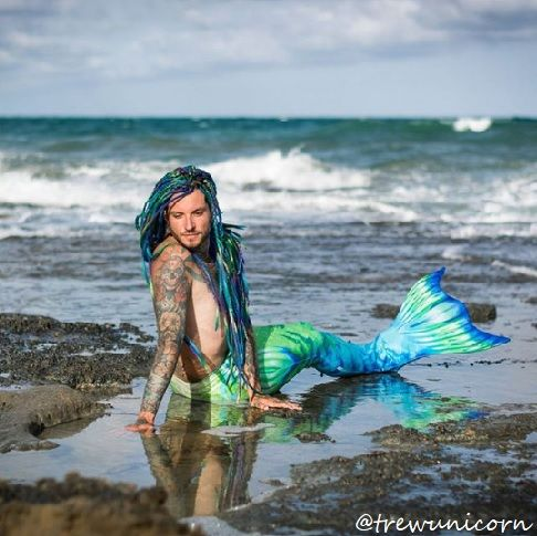 #dreadmodel: our amazing friend @trewunicorn ✨, rocking his #mermaid ♀️ #katinkadreads in the perfect location with his awesome merman tail by @mertailor ♂️!  #wooldreadlocks #wooldreads #dreads #dreadlocks #merman #sea #ocean #costume #cosplay #extensions #dreadextensions #braids #rastas #mermaidhair #dreadstagram #guyswithdreads #colorfuldreads #colorfulhair #hairstyles #dreadstyles #etsy #smallshop #getdreadyforhappiness #mermaid