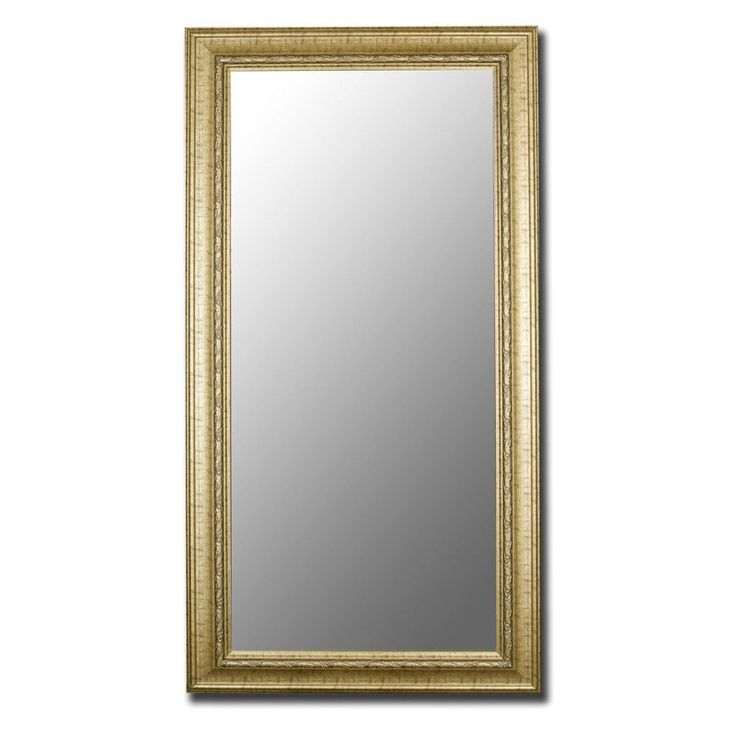 Have to have it. Gold Antique and Gold Trim Wall Mirror $329.99