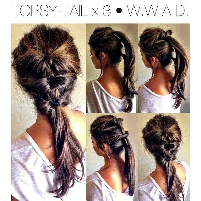 Topsy Tail Hair Tutorial