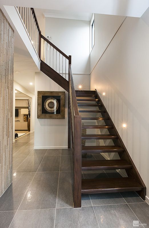 Staircase in the Milan by Stylemaster Homes