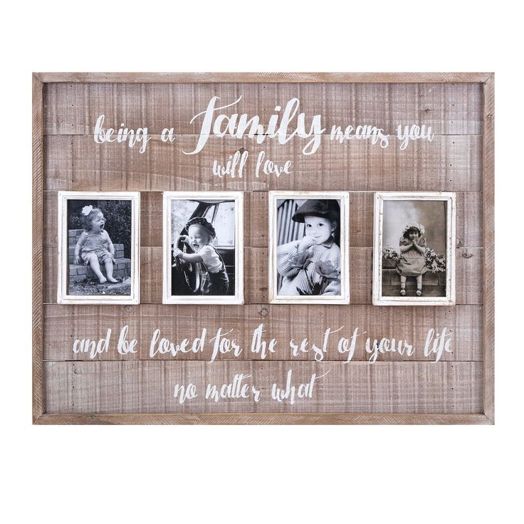 Family Wall Picture Collage Frame