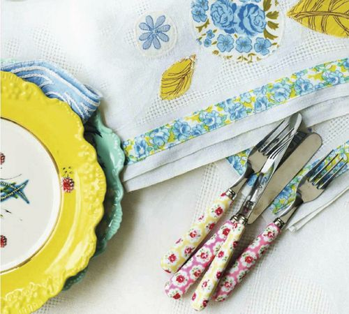 Retro Home DIY Ideas for Decor   Colourful Flea Market Thrift Style