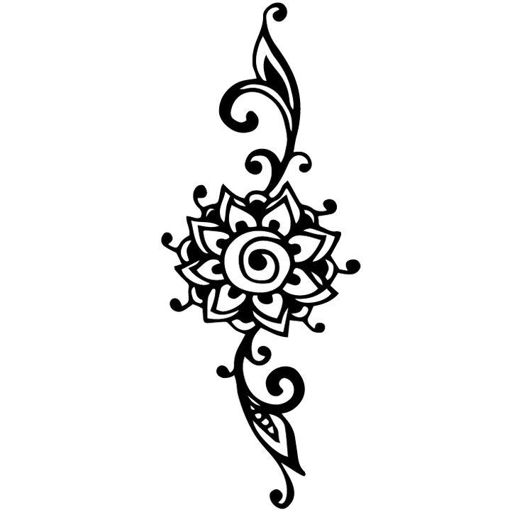 Henna Design Temporary Tattoos #640