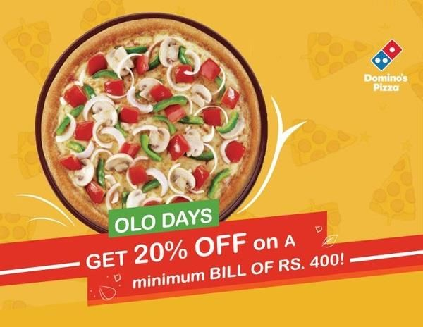 Browse freecouponcodes.co.in to usedomino's pizza coupons india to get Get 20% off on 400 @pizzaonline.dominos.co.inforDominos pizza ordering and delivery more convenient with its online ordering platform. Order online to avail special discounts and offers with coupon codes