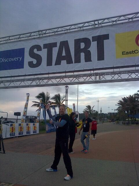 "#bigwalkdurban please friends.. This isn't the ""one"" day of your gym for the year! Keep it up!! @ecr9495 @DamonBeard"