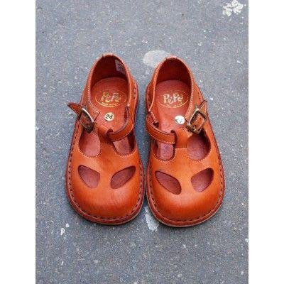Chaussures basses ouvertes Caramel [Pèpè]