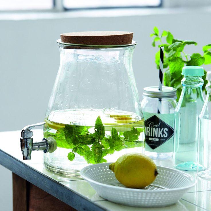 Juice Lemonade Jar, tappkran House Doctor