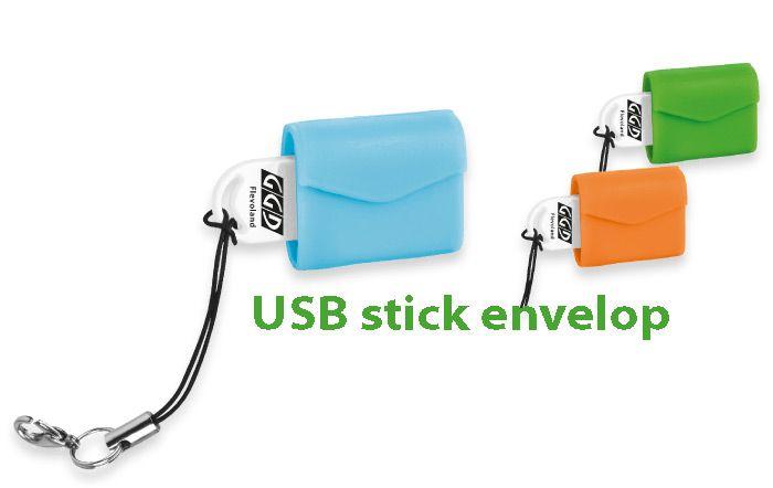 Relatiegeschenk USB stick Envelop.