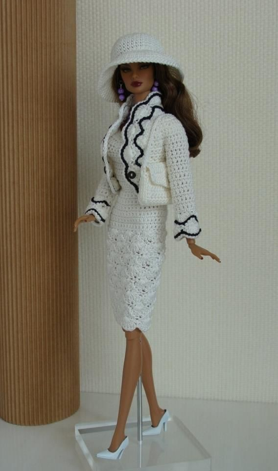 Barbie doll crochet outfit