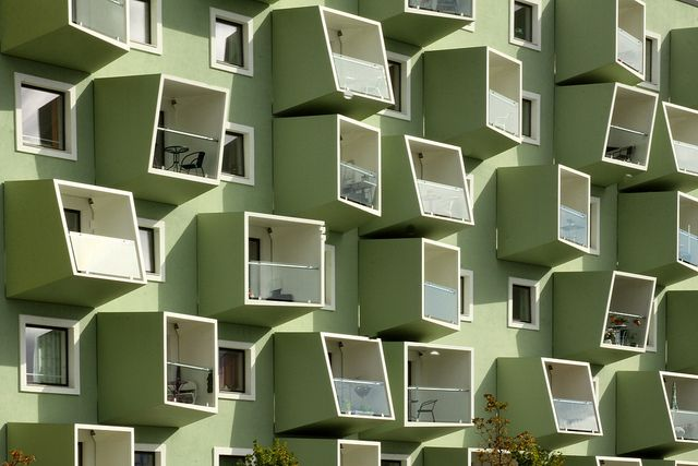 Ørestad Plejecenter / Senior Housing by asli aydin, via Flickr