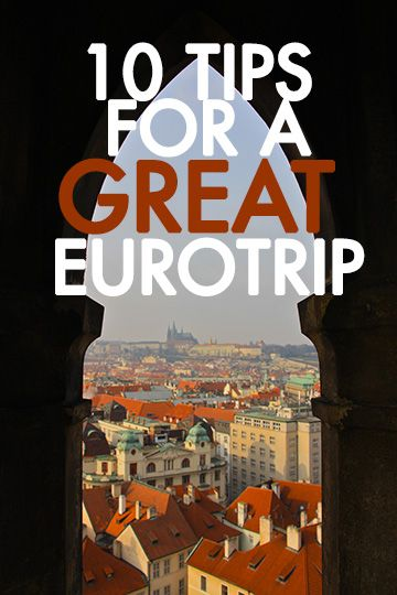 Euro-trip travel tips, brought to you by @OverseasEscape.