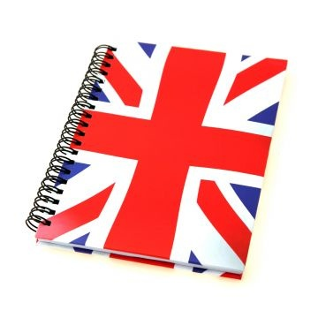 Union Jack Notebook - London Souvenirs