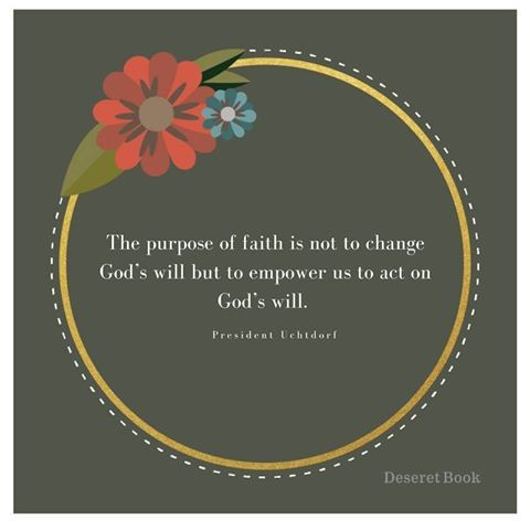 What did you take away from Dieter F Uchtdorf talk? #LDSConf