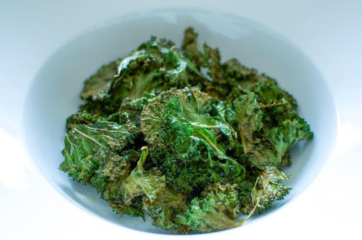 grønnkål chips