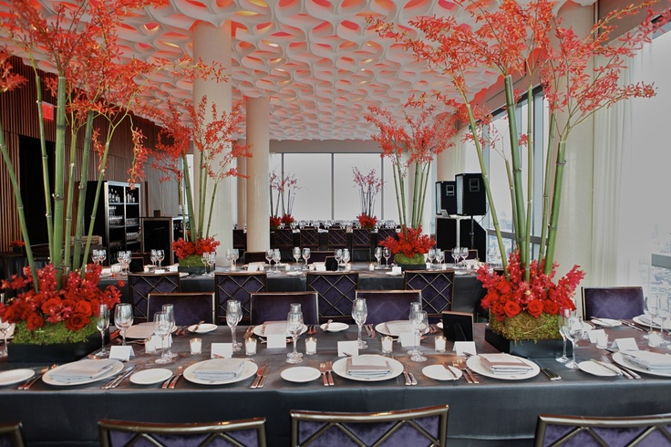 Asian theme tablescapes inspired by bento boxes wedding asian theme tablescapes inspired by bento boxes wedding reception at the trump soho hotel in downtown manhattan pinterest tablescapes reception junglespirit Images