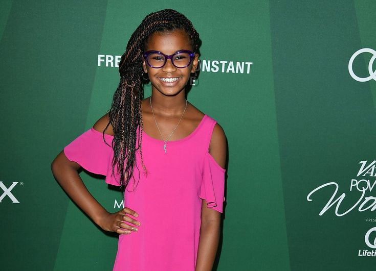 Marley Dias arrives at the Variety's Power Of Women Luncheon 2016 at the Beverly Wilshire Four Seasons Hotel on October 14, 2016 in Beverly Hills, California. (Photo by Steve Granitz/WireImage)