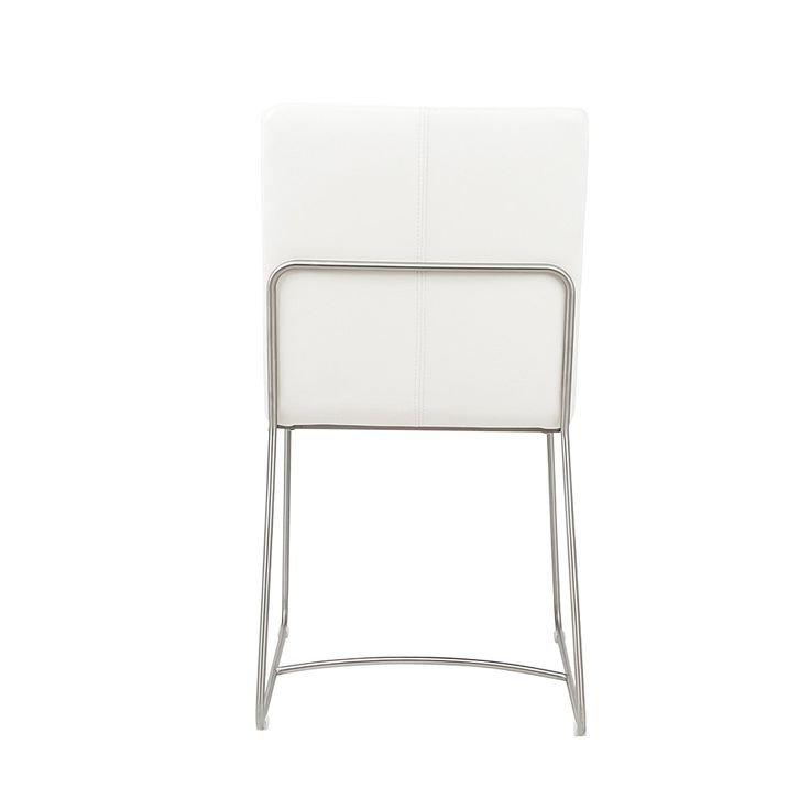 Dining chairs, elliot dining chair - white