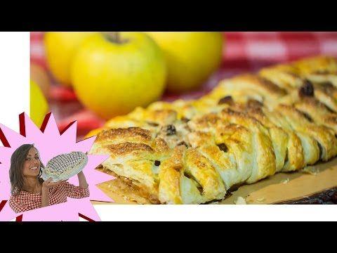 Strudel di pasta sfoglia con verdure - YouTube