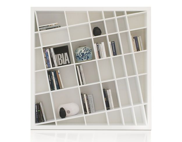 Contemporary Lacquered Bookcase GIANO K By Delfinetti U0026 Bernasconi ESTEL