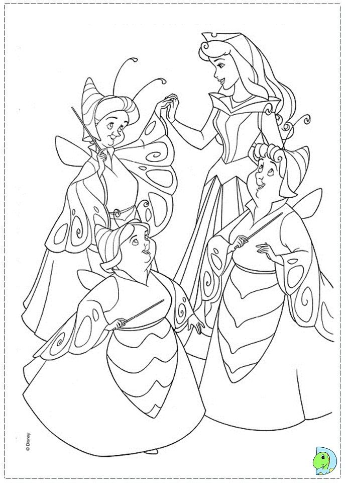 67 Best Sleeping Beauty Disney Coloring Pages Images On